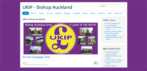 Link to UKIP Bishop Auckland Website